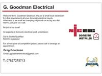 G.Goodman Electrical - Local Kent Electrician