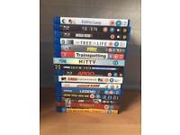 16 Blu rays