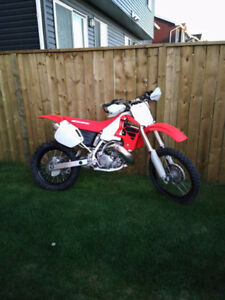 2001 CR500R Last year of the legend. Will become a collector