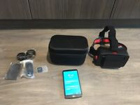 Homido VR Headset and LG G3