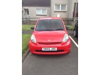 Daihatsu Sirion For Sale (MOT due 16 Dec 2017) - £550 O.N.O.