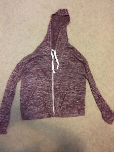 Medium American Eagle Zip-Up Sweater