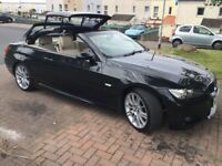2009 BMW 320I M SPORT CONVERTIBLE FULL/S/H/ EX.CON.