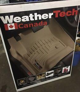 2014-17 Weather Tech rear mat Chev/GMC