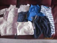 0-3 months boys clothes. 9 items in total.Various items. Wool and cotton