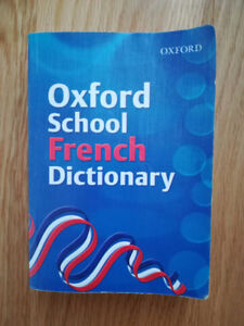 Oxford French Dictionary Rarely Used