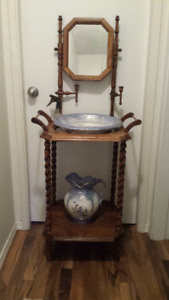 Replica Antique Wash Stand - REDUCED PRICE