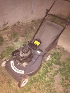 Brentwood 21' rear bagger lawnmower for sale