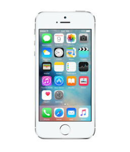 Apple iPhone 5S Silver 16GB Excellent Condition (Rogers/Chatr)