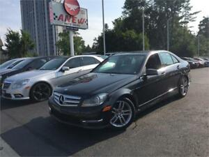2013 Mercedes-Benz C300 | CERTIFIED|NAVIGATION|4MATIC|WE FINANCE