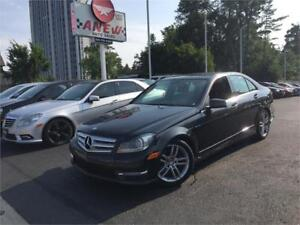 2013 Mercedes-Benz C-Class C 300 NAVIGATION - 4MATIC -WE FINANCE