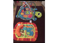 Baby gym/ball pit and tummy mat