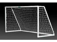 Multi surface UPVC portable goalposts