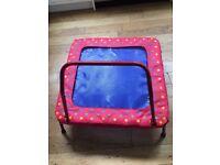 GALT folding TRAMPOLINE for junior / toddler / child. Indoor or outdoor. EXCELLENT CONDITION
