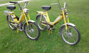 selling 2 motor bike gas and pedal. $250.