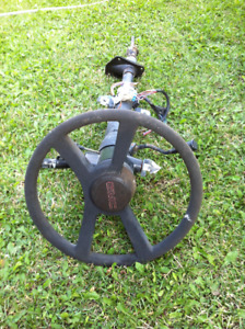 1991 GMC Tilt Steering Wheel - with key