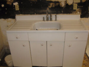 Youngstown sink and cabinet
