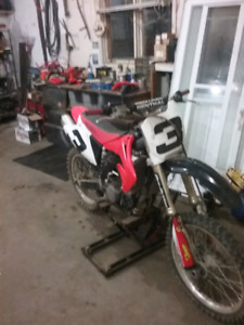 02 crf 450 trade for cr 250