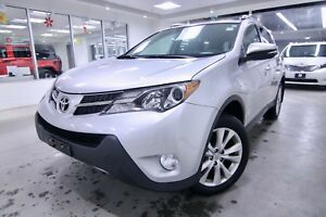2014 Toyota RAV4 LIMITED ONE OWNER, ORIGINAL RHT VEHICLE NON SMO