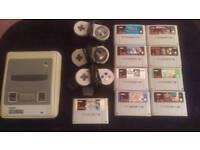 Snes super Nintendo 9 games 3 controllers retro