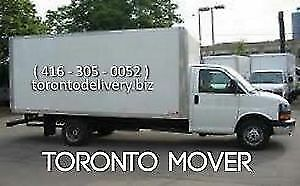 RENT 16 FEET CUBE VAN WITH A DRIVER- moving&delivery-416-8876327