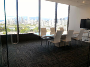 Stunning Professional Office with VIEW Broadway & Cambie