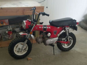 Looking for Honda CT70