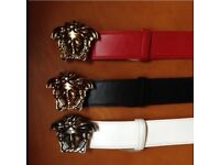 High quality designer belts and gold chains