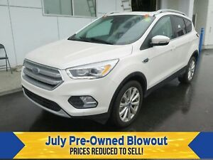 2017 Ford Escape Titanium Nav. Moonroof. EcoBoost.
