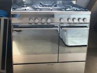 Range Cooker -Dual Fuel Fisher and Paykel 0R90LDBGX1 90cm