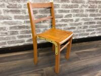Small Vintage Children School Chair