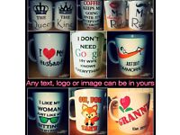 Novelty Tea Coffie Personalised Mug/Cup Ideal Gift Present