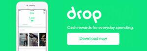 Drop App - earn giftcard rewards through your regular shopping!