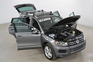 2014 Volkswagen Touareg TDI Comfortline GPS+Cuir+Toit+Camera de