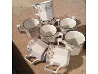 Eight eternal beau mugs