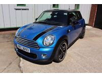 "11 MINI ONE 1.6D 'PIMLICO' 3DR ++ FULL YEARS MOT, 18"" ALLOYS & 50+ MPG ++"