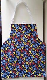 [Handmade] Children's Apron 'Giraffe Design'