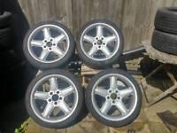 AC Schnitzer type 2 alloys wheels 5x120