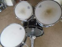 Remo mastertouch 10 & 14 tom and 20 bass and snare