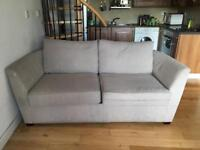Nearly new John Lewis sofa bed