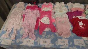 0-6mo Baby Yard Sale plus Maternity Clothing