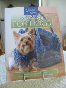 "BOOK of ""HOW-TO-KNIT"" ADORABLE DOGGIE OUTFITS"