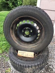 Yokohama tires 195 65 R15 winter rims