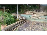 Decking, various sizes. Free to collector.