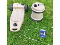 Motorhome or Caravan Campervan waste water tank & fresh water rolling barrel - HARDLY USED