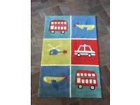 Children's vehicle rug