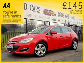 VAUXHALL ASTRA 2.0 ELITE CDTI S/S 5d 163 BHP Been Refused Credit (red) 2014