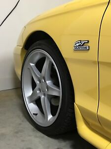 "Replica Cobra R 18"" wheels with tires Mustang GT"