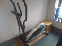 DECATHLON VE750 CROSS TRAINER SEMI PROFESSIONAL FULLY WORKING, EASY TO DISMANTLE & LOAD IN ANY CAR.