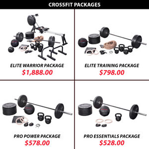 Package Weight Kettlebell Plate Olympic Barbell Set Crossfit
